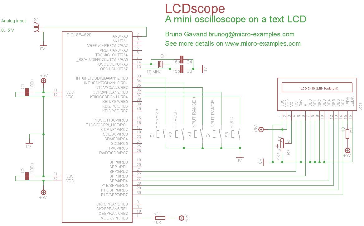 LCDscope, not a GLCD but a text LCD oscilloscope 078-LCDSCOPE-lcdscope_schematic