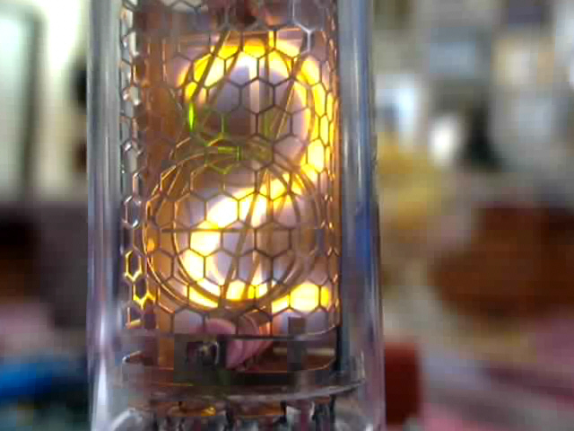 Single-Tube nixie clock