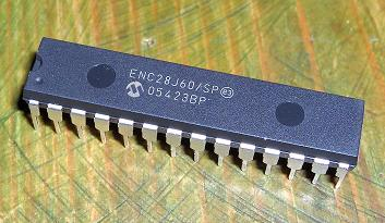 ENC28J60 Serial Ethernet Controller