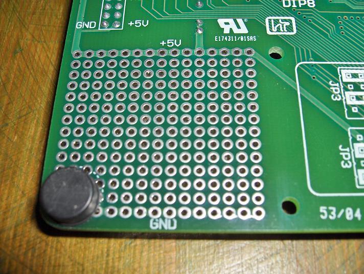 EasyPic prototype area (reverse side)