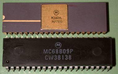mc6809 chips