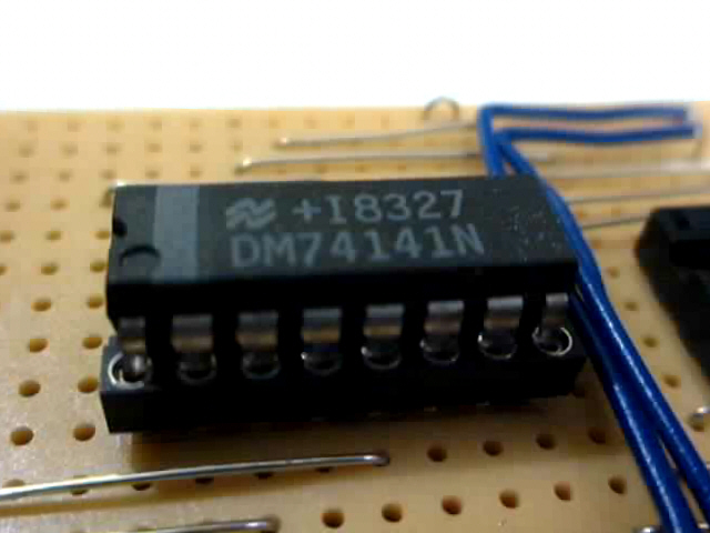 74141 BCD to DECIMAL high voltage driver for nixies